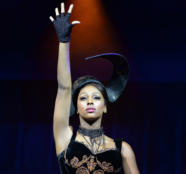 Alexandra Burke in The Bodyguard at The Adelphi Theatre