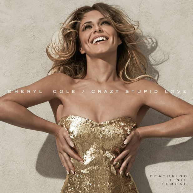 Cheryl Cole 'Crazy Stupid Love' single artwork.