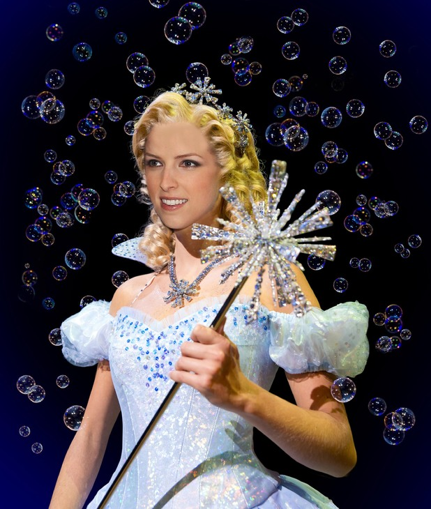 Anna Kendrick as she would look as Glinda
