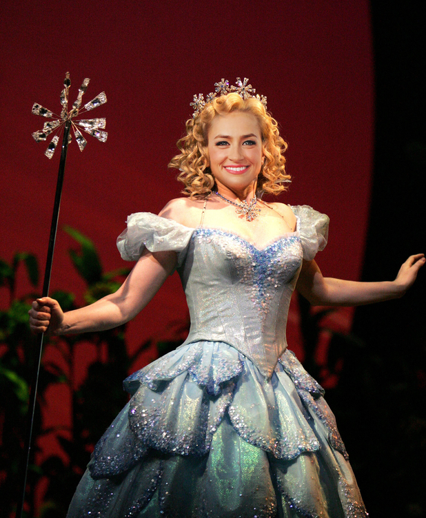 Beth Behrs as she'd look as Glinda in Wicked