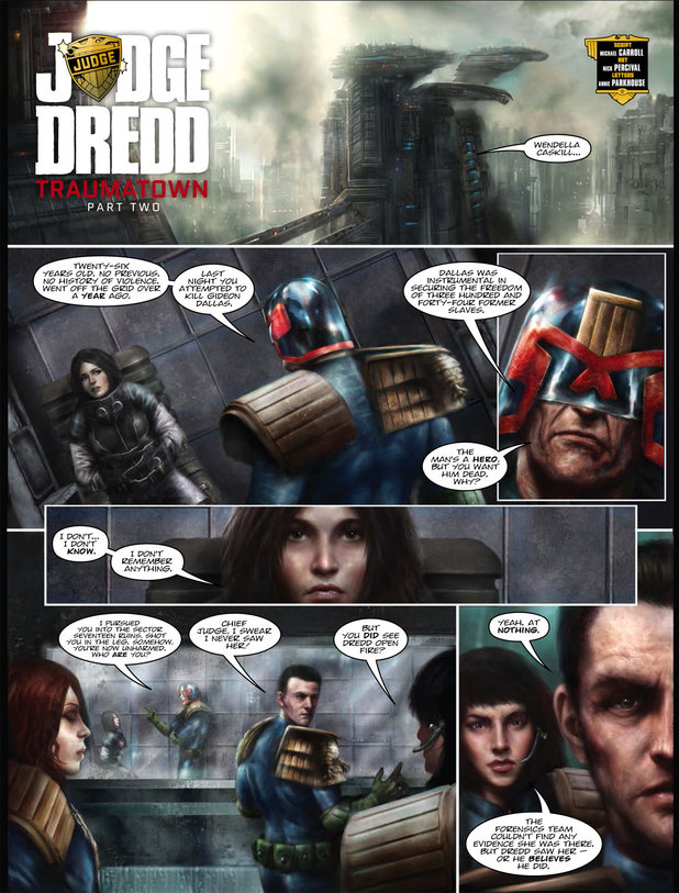Judge Dredd - Traumatown
