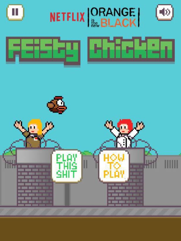 The Orange Is The New Black Feisty Chicken game