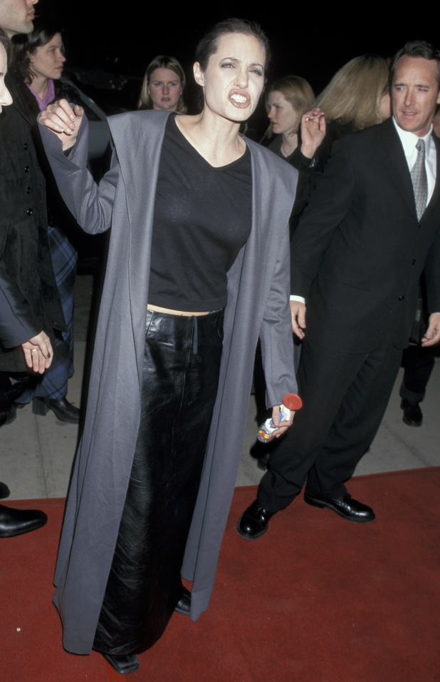 Girl Interrupted' - Los Angeles Premiere Caption:Angelina Jolie (Photo by Jim Smeal/WireImage) December 08, 1999