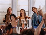 Michelle Williams, Beyoncé and Kelly Rowland in 'Say Yes' music video.