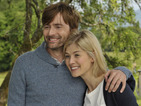 David Tennant and Rosamund Pike hit the road in What We Did on Our Holiday trailer