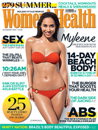 Myleene Klass in the July issue of Women's Health