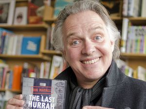 Rik Mayall signs copies of his CD The Last Hurrah in Cornwall, 2013