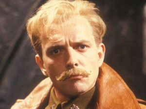 Rik Mayall as Lord Flashheart in Blackadder Goes Forth