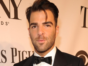 Zachary Quinto arriving at the 68th Annual Tony Awards 2014