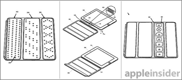 Apple patent for a new iPad Smart Cover