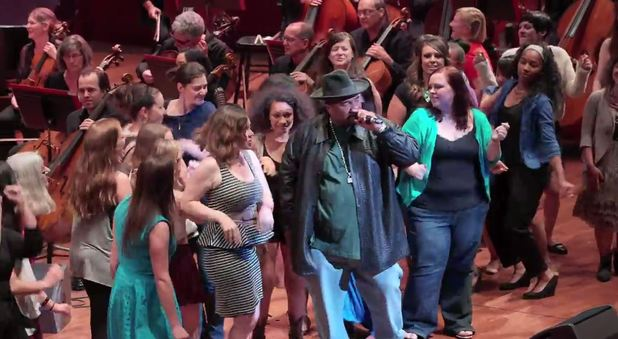 Sir Mix-A-Lot performs Baby Got Back with the Seattle Symphony