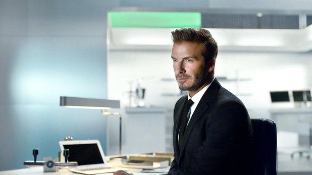 David Beckham in James Bond-style Sky Sports advert
