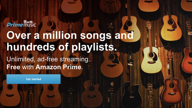 Spotify rival Amazon Prime Music
