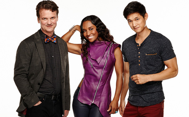 Fake Off judges Harry Shum Jr., Rozonda