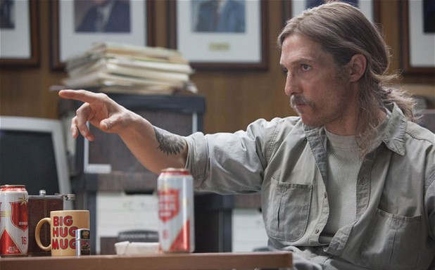 Matthew McConaughey in True Detective episode 3