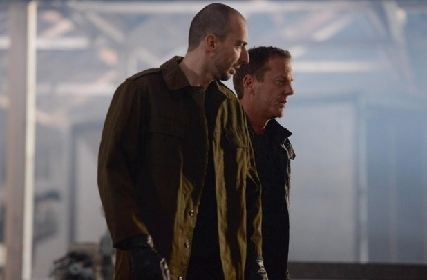 "Kiefer Sutherland & Brank Tomovic in 24: Live Another Day episode 7 - ""5:00PM - 6:00PM"""