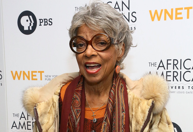Ruby Dee attends 'The African Americans: Many Rivers to Cross' New York Series Premiere