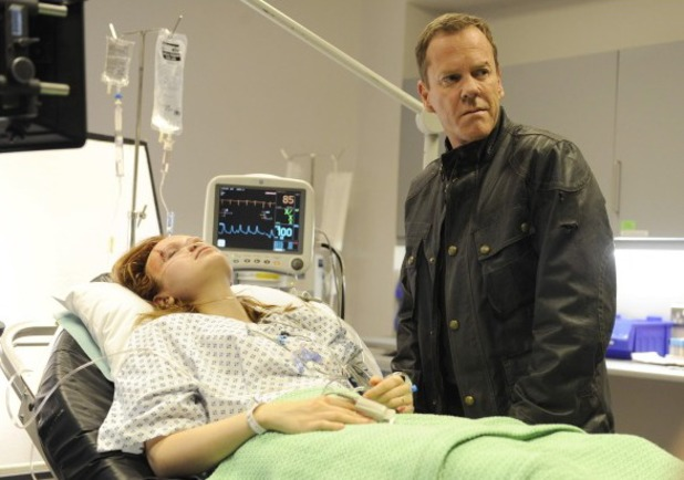 "Kiefer Sutherland & Emily Berrington in 24: Live Another Day episode 7 - ""5:00PM - 6:00PM"""