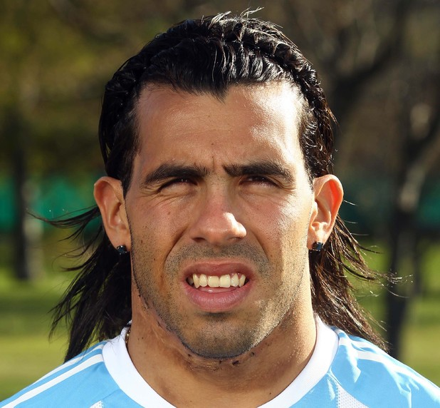 Argentina. World Cup Squad - 26 May 2010 Carlos Tevez 26 May 2010