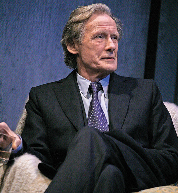 Bill Nighy as Tom Sergeant in Skylight at Wyndham's Theatre