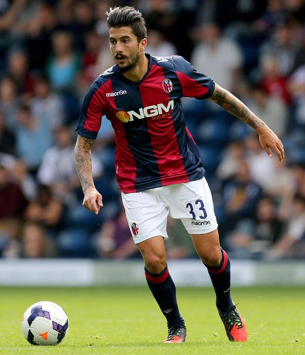 Soccer - Pre-season Friendly - West Bromwich Albion v Bologna - The Hawthorns Panagiotis Kone, Bologna