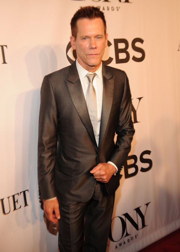 Kevin Bacon arriving at the 68th Annual Tony Awards 2014