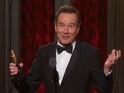 Bryan Cranston wins Best Leading Actor at Tonys