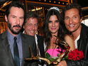 See Sandra Bullock being reunited with Matthew McConaughey, more at awards ceremony.