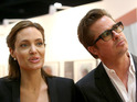 It's the first time Jolie and Pitt have worked together on-screen since 2005's Mr and Mrs Smith.