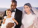 Kardashian family are also present in new shots from lavish Italian wedding.