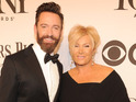 Hugh Jackman and Deborra-Lee Furness arriving at the 68th Annual Tony Awards 2014