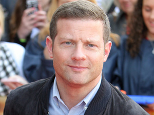 Dermot O'Leary arriving at The X Factor auditions in Manchester