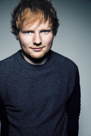 Ed Sheeran press shot.