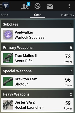 Destiny companion app preview