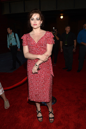 Helena Bonham Carter attends The Wizarding World of Harry Potter Diagon Alley Grand Opening at Universal Orlando