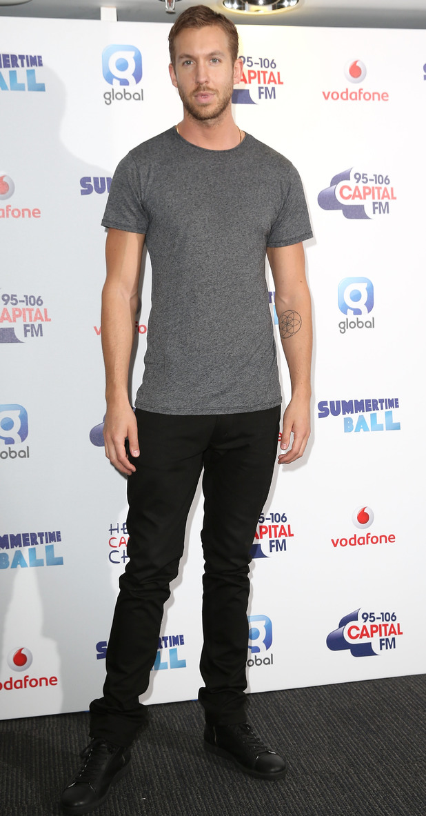Capital FM Summertime Ball 2014: Calvin Harris