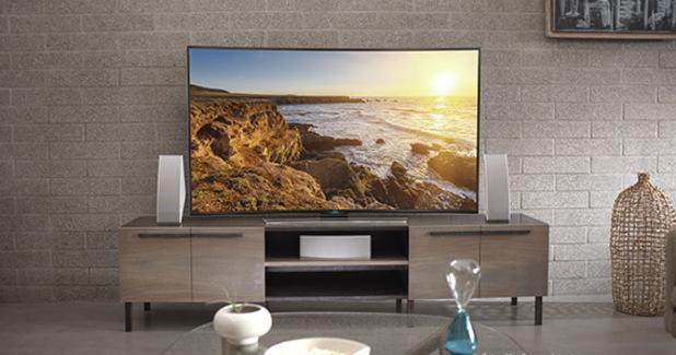 "Samsung UHD 4K HU9000 Series 65"" Smart TV"