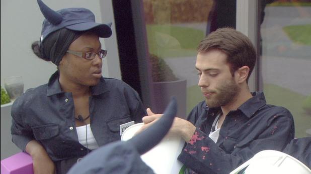Toya A Washington and Matthew Davies on Big Brother