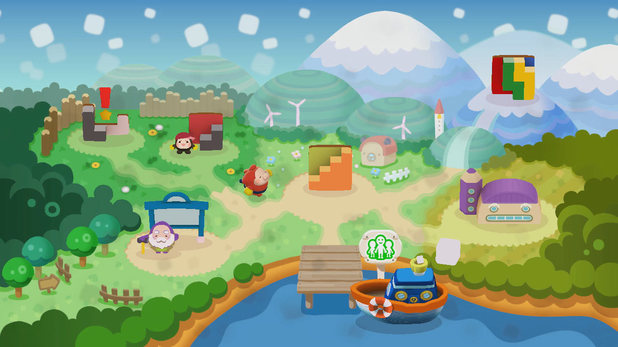 Pullblox World sees the puzzle 3DS series jump to Wii U