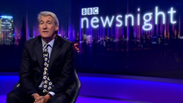 Jeremy Paxman hosts final Newsnight