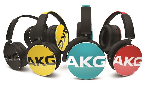 The AKG Y50 headphones