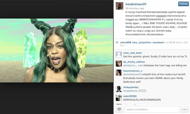 T.I. slams Azealia Banks for insulting wife