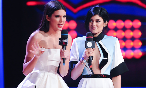 Kendall & Kylie Jenner presenting the 2014 MuchMusic Video Awards