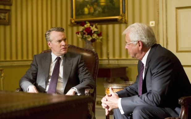 William Devane & Tate Donovan in 24: Live Another Day episode 8 - '6:00PM - 7:00PM'