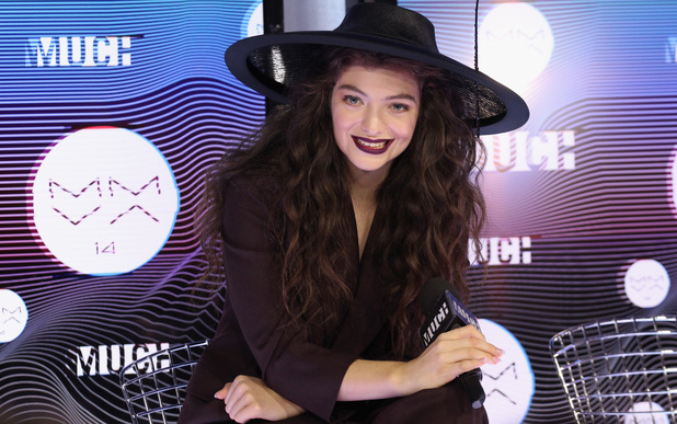 Lorde at the 2014 MuchMusic Video Awards
