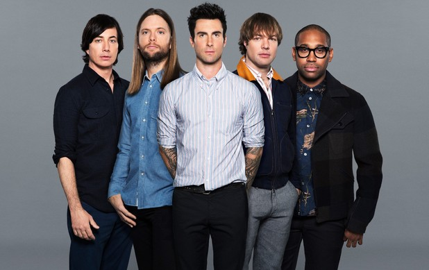 Maroon 5 press shot.