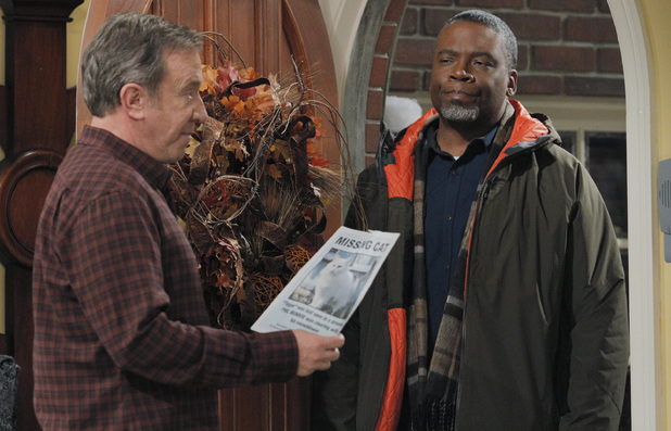 Jonathan Adams starring alongside Tim Allen in Last Man Standing