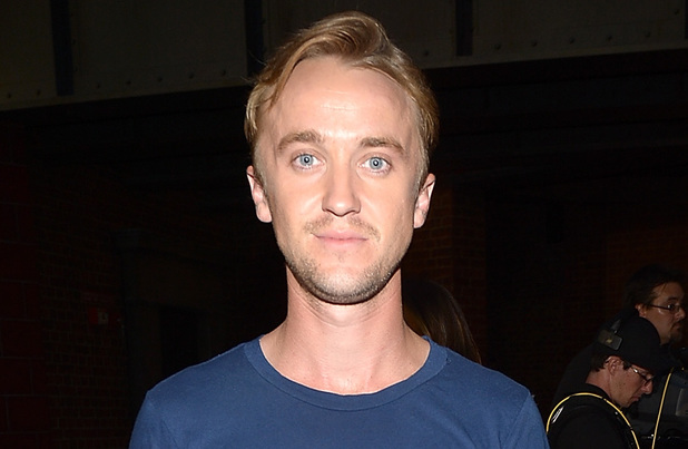 Tom Felton attends The Wizarding World of Harry Potter Diagon Alley Grand Opening at Universal Orlando