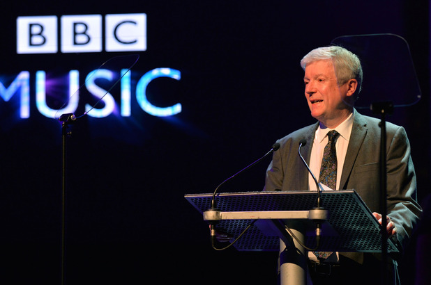 Tony Hall at the BBC Music press launch