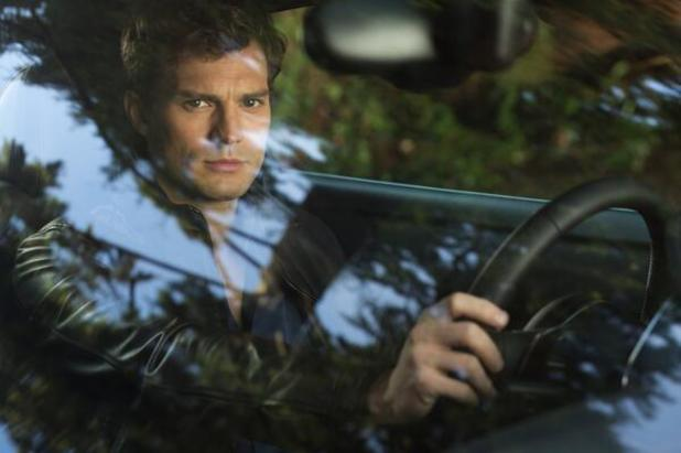 Jamie Dornan as Christian Grey in the Fifty Shades of Grey movie